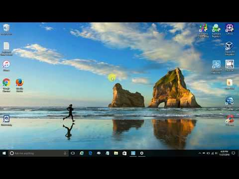 How to change Windows 10 Wallpaper - windows 10 customization desktop -  Windows 10 themes