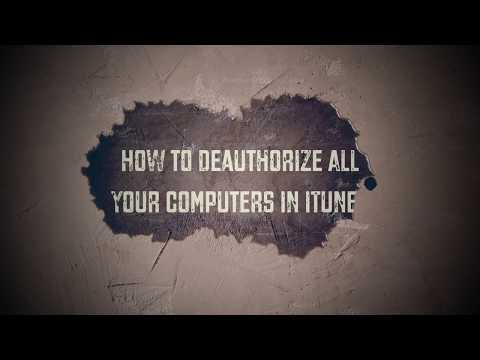 How to Deauthorize All Your Computers in iTunes