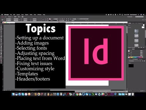 InDesign Walkthrough — The Basics of Laying Out Your Self-Published Book