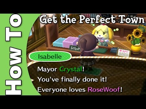 How to: get the Perfect Town (Animal Crossing: New Leaf)