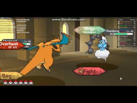 Catching Legendary Thundurus Fail | Pokemon Brick Bronze