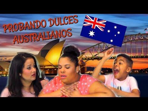 CASI MUERO!!! PROBANDO DULCES AUSTRALIANOS (KARLA PRUEBA EL MUNDO)