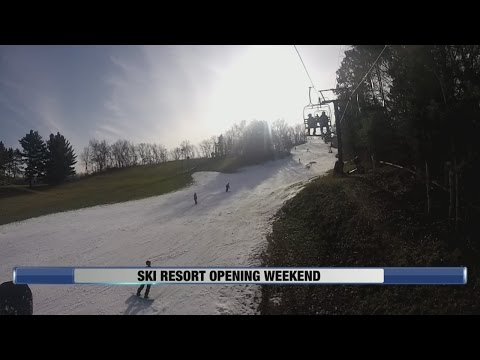 Ski Resort Opening Weekend