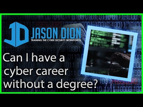 Can you have a career without a degree? The Degreeless InfoSec Career