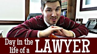 Day in the life of a LAWYER!
