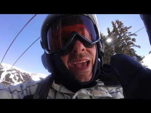 Snowboarding at Loveland Colorado