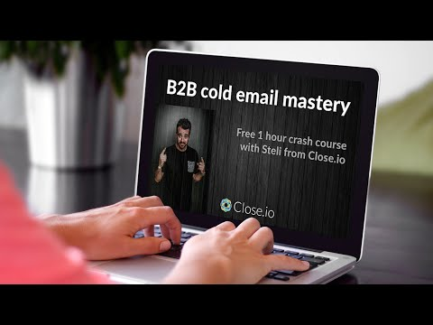 B2B cold email [1 hour crash course]