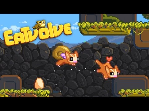 Eatvolve - Flying Snail Squirrel Evolution! - Let's Play Eatvolve Gameplay