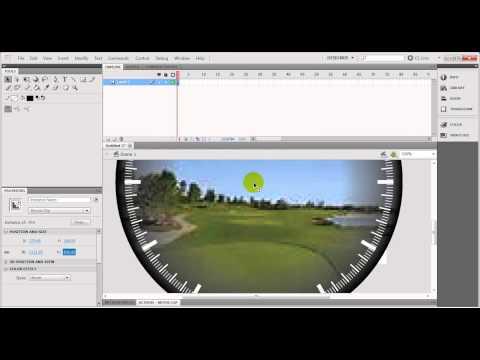 How to create analog clock in adobe flash