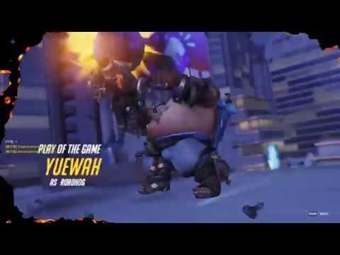 Overwatch - Play of the Game - Roadhog Quad Kill