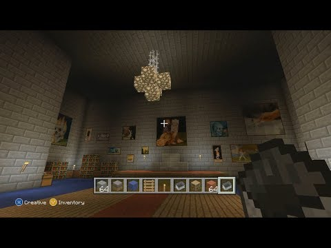 Minecraft: Castle and Underground City (Xbox 360 Edition)