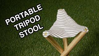 Portable Tripod Stool