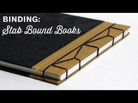 Binding A Japanese Stab Bound Book · Timelapse