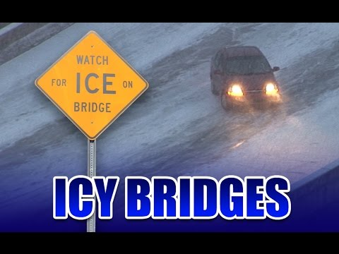 Icy Bridges: Weather's Underrated Killer (Winter Driving Education)