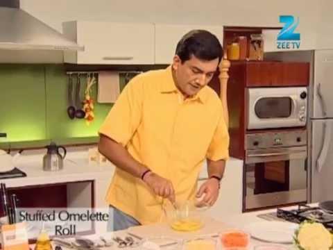 Khana Khazana Ramzan Special - Stuffed Omelette Roll