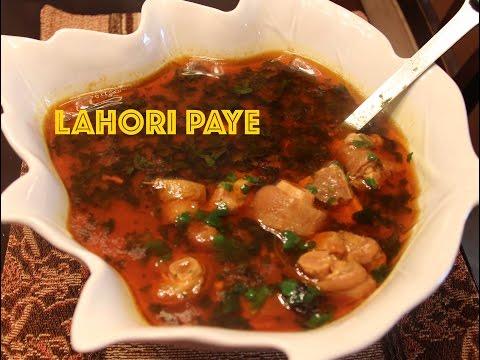 Delicious Lahori Paye