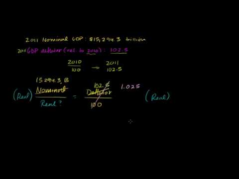 04 - Real and nominal GDP - 03 - Example calculating real GDP with a deflator.webm