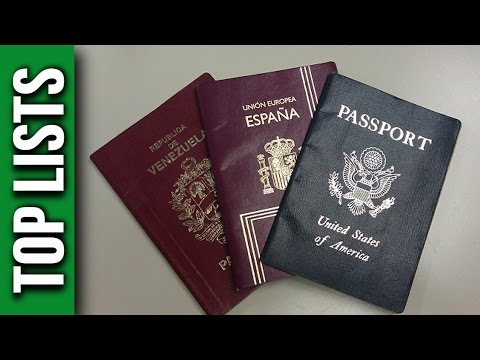 Top 10 Most Powerful Passports For Visa Free Travel