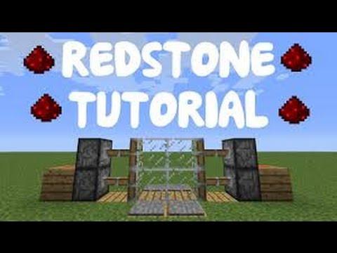 Minecraft PE 0.15.0 Redstone - How to make Piston Door