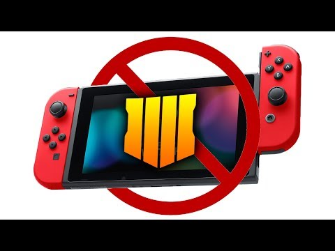 Black Ops 4 NOT COMING TO SWITCH! (CONFIRMED)
