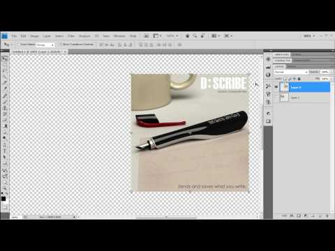 Adobe Photoshop CS4 - How to remove text from an image