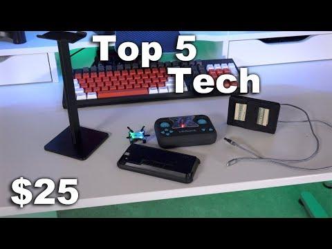 Top 5 Tech Under $25