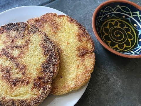 Harcha Moroccan Flatbread - Episode 332 - Baking With Eda