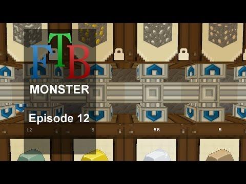 Barrel storage - FTB Monster - Episode 12