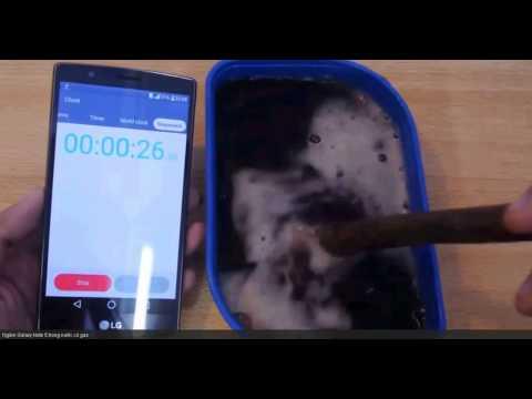 Coke Test || Samsung Galaxy Note 5 | Coke Water Test HD | #2 All New Samsung Note 5 Coke Water Test
