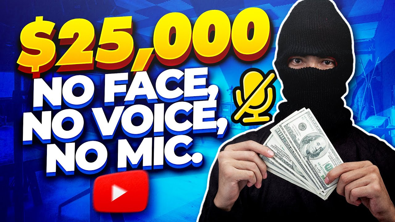Earn Money On Youtube Without Making Videos ($25k Per/mo) Step by Step Tutorial. (Not Clickbank)