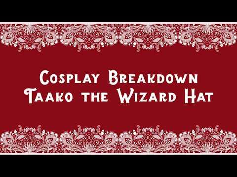 Cosplay Breakdown    Taako Wizard Hat