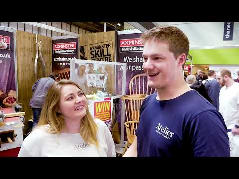 Makers Central 2018 - Interview with Jamie & Rhiannon of Atelier Cabinet Makers