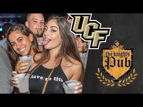 UCF Knights Pub Happy Hour gets CRAZY! Orlando vlog