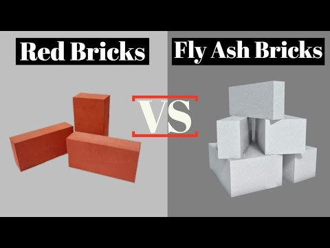 Difference Between Red Bricks and Fly ash Bricks | Nirman Gyan