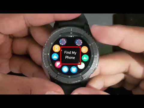 How to Find My Phone Location on Samsung Gear S3