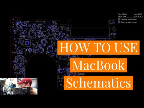 How to Use Macbook Schematics to Locate Components