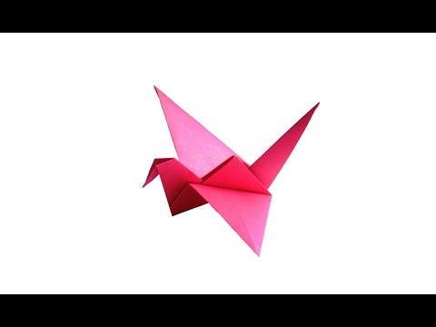 Flying Crane Origami