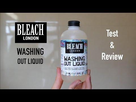 Bleach London Washing Out Liquid | Test & Review
