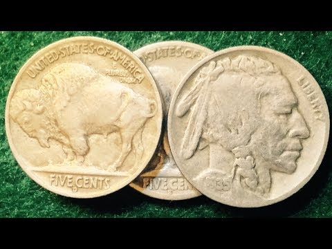 Searching For The Rare 1935 Double Die Reverse Nickel