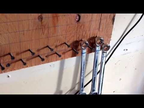 Cheap do it yourself wrench and socket organizer - Saturday Projects