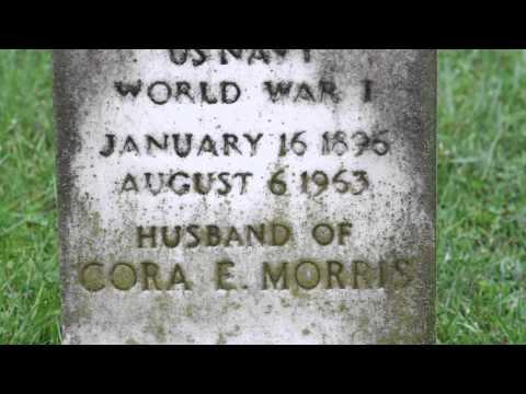 A WW1 Veteran Gravestone in Charlottesville, Virginia