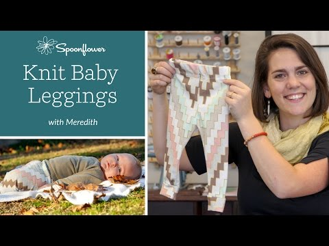 The Perfect DIY Baby Leggings Tutorial | Spoonflower