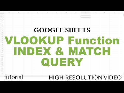 Google Sheets QUERY Function, VLOOKUP with Multiple Matches Tutorial - Part 6