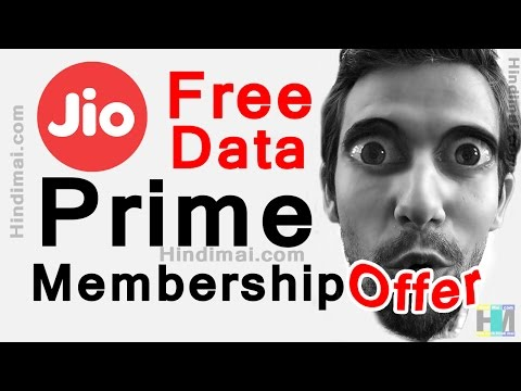 Jio Prime Membership Offer | Jio Prime Plan in Hindi | Unlimited Data for 1 Year