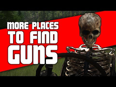 More Places to Find Guns in Miscreated | Looting Guide