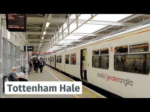 London: Greater Anglia trains at Tottenham Hale feat. Anne