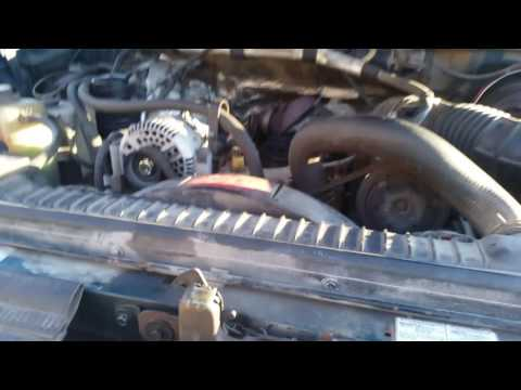 1997 Ford Powerstroke 7.3l Glow Plug Relay Replacement