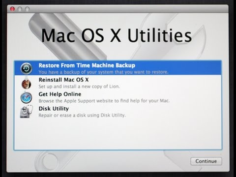 How to reset your macbook pro to factory settings without installation discs