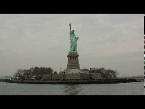 Free HD Stock Footage of Statue of Liberty