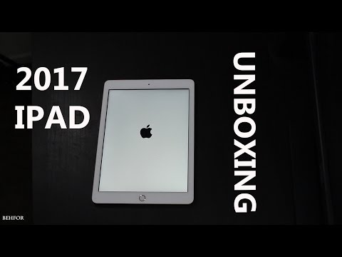 iPad (2017) GOLD - (Unboxing)